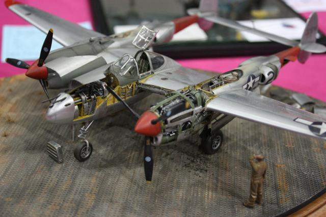 Competition Entry - 1/48 P-38 Lightning