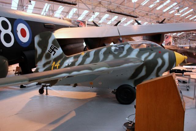 Messerschmitt Me 163 - Cosford