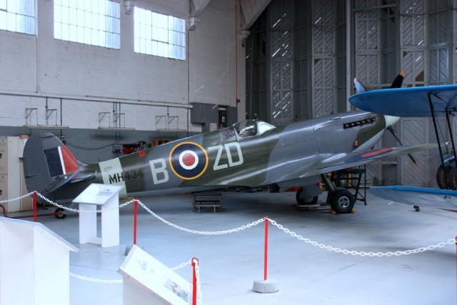 Spitfire Mk.IXB - Duxford 2009