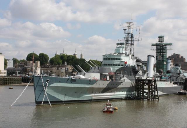 HMS Belfast - August 2009