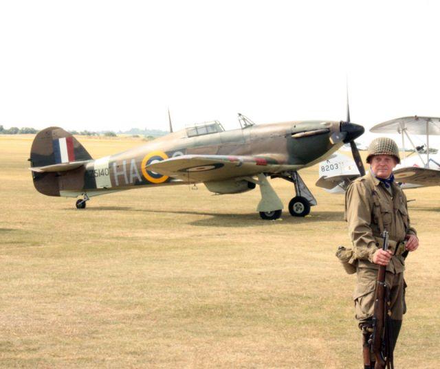 Hawker Hurricane - Duxford 2010