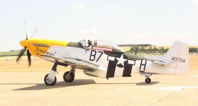 P-51D Mustang - Duxford 2010