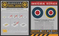 Maketar 1/48 RAF Roundels & Fin Flashes Type C & C1