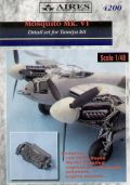 Aires 1/48 Mosquito FB.VI Engine Detail Set