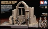 Tamiya 1/35 German Infantry - Scenery Set No.4