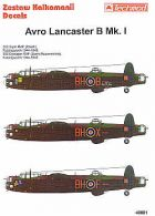 Techmod 1/48 Avro Lancaster B Mk.I Decals No.1