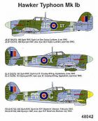 Techmod 1/48 Hawker Typhoon Mk.Ib Decals No.1