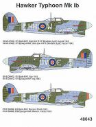 Techmod 1/48 Hawker Typhoon Mk.Ib Decals No.2