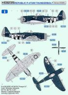 Techmod 1/48 Republic P-47D/M Thunderbolt Decals