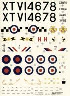 Xtradecal 1/48 Phantom FG.1/FGR.2 Decals