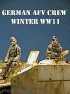 DMM 1/48 German AFV Crew In Winter Clothing