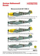 Techmod 1/48 Messerschmitt Bf 109E-4 Decals
