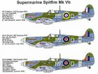 Techmod 1/32 Supermarine Spitfire Mk.Vb Decals No.1