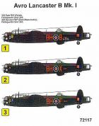 Techmod 1/72 Avro Lancaster B Mk.I Decals