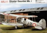 AZ Model 1/72 Gloster Gauntlet Mk.I