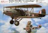 "AZ Model 1/72 Hawker Hind Mk.I ""In Camouflage"""