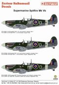 Techmod 1/24 Supermarine Spitfire Mk.Vb Decals No.2