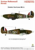 Techmod 1/24 Hawker Hurricane Mk.Ic Decals No.2