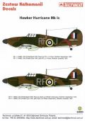 Techmod 1/24 Hawker Hurricane Mk.Ic Decals No.1