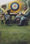 DMM 1/48 RAF Pilots in Chairs
