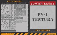 Maketar 1/48 PV-1 Ventura Decal Replacement Masks