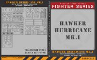 Maketar 1/48 Hurricane Mk.I Markings & Canopy Masks