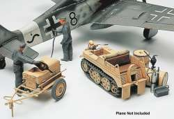 Tamiya 1/48 German Aircraft Power Supply & Kettenkraftrad