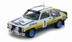 "Sun Star 1/18 Ford Escort ""Rothmans"" - Waldegaard"