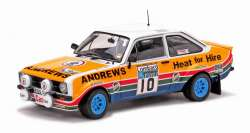 "Sun Star 1/18 Ford Escort RS1800 ""Andrews Heat For Hire"""