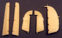 Ultracast 1/48 Hawker Hurricane Control Surfaces