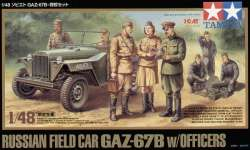Tamiya 1/48 Russian Field Car GAZ-67B w/Officers