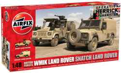 Airfix 1/48 British Forces Land Rover Twin Set