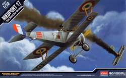 "Academy 1/32 Nieuport 17 ""First World War Centenary"""