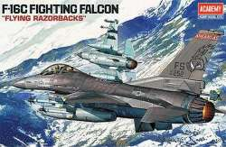 "Academy 1/48 F-16C Fighting Falcon ""Flying Razorbacks"""