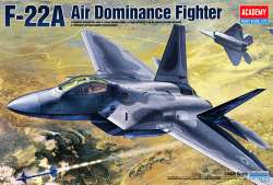 Academy 1/48 F-22A Raptor Air Dominance Fighter