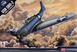 "Academy 1/48 SBD-2 Dauntless ""Battle of Midway"""