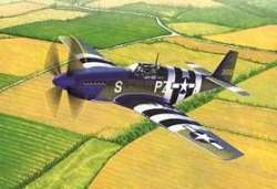 "Academy 1/48 P-51B Mustang ""Blue Nose"" 70th Anniversary Edition"