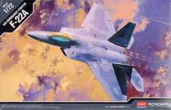 Academy 1/72 F-22A Raptor Air Dominance Fighter