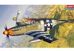 "Academy 1/72 P-51B Mustang ""Old Crow"""