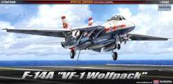 "Academy 1/72 F-14A Tomcat ""VF-1 Wolfpack"""