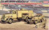 Academy 1/72 German Fuel Truck and Schwimmwagen