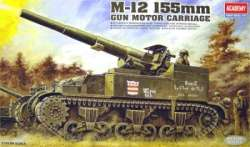 Academy 1/35 M-12 155 Gun Motor Carriage