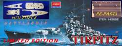 Academy 1/350 Tirpitz Special Limited Edition