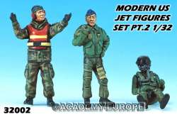 Academy 1/32 Modern US Aircraft Figure Set 2