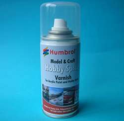 Humbrol 035 Acrylic Gloss Varnish (150ml Aerosol)