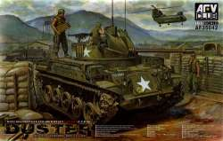 AFV Club 1/35 M42A1 Duster Self-Propelled Anti-Aircraft Gun Late Type
