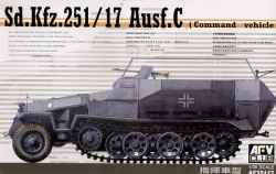 AFV Club 1/35 Sd.Kfz.251/17 Ausf.C Command Vehicle