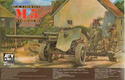 AFV Club 1/35 US 3 Inch Gun M5 On Carriage M6