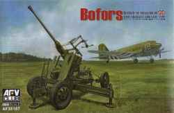 AFV Club 1/35 Bofors British QF 40mm Mk.III Anti-Aircraft Gun Late Type