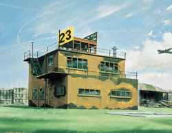 Airfix 1/72 Airfield Control Tower